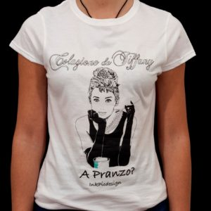 T-shirt Colazione da Tiffany donna