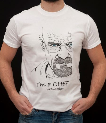 T-shirt Breaking Bad uomo