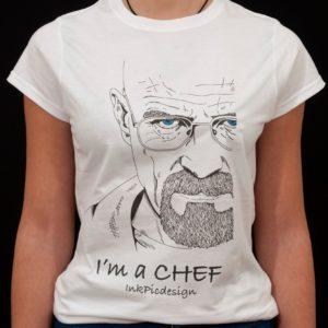 T-shirt Breaking Bad donna