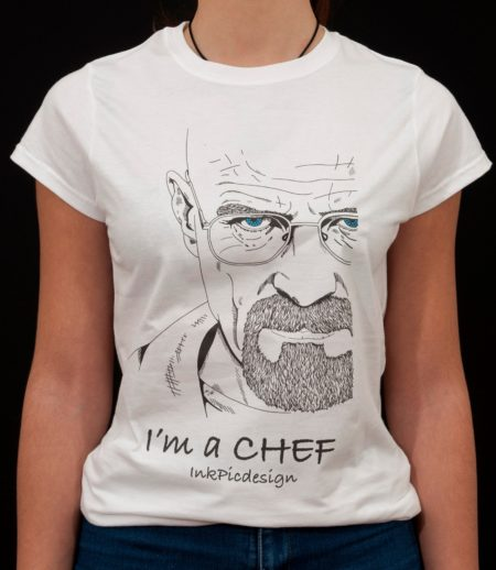 T-shirt Breaking Bad donna